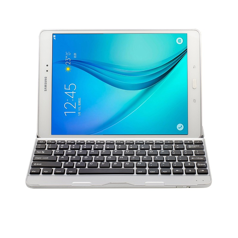 US $29 9 |super tiny keyboard 2 in one tablet case For Samsung Galaxy Tab A  9 7 Inch Tablet T550 T551 Wireless Bluetooth Keyboard-in Tablets & e-Books