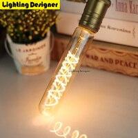 T28 185 MM Edison do bulbo da lâmpada LED de fogos de artifício do vintage E27 lâmpada LED 220 V 4 W branco quente brilho bar lâmpada