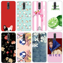 3D Huawei mate 10 lite Case Cartoon TPU 20 Patterns Floral for Cover Cute Mate phone Cases Dog