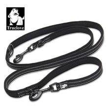 Truelove 7 In 1 Multi-Function Adjustable Dog Lead Hand Free Pet Training Leash Reflective Multi-Purpose Dog Leash Walk 2 Dogs