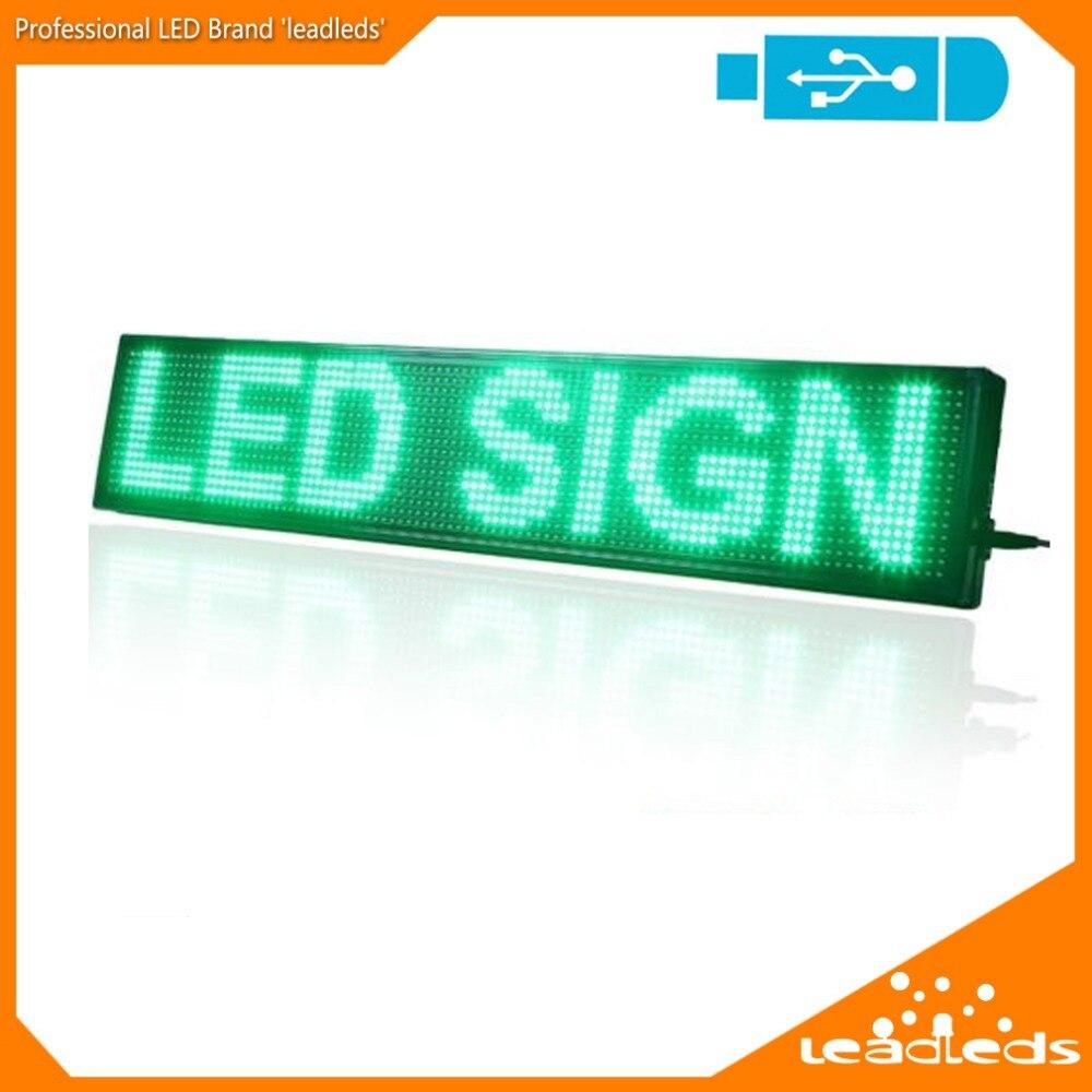dip indoor p10 levou assinar rolagem placa de exposicao mensagem do programa de cor verde