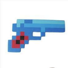 1 шт. Minecraft Игрушки Minecraft Пена Меч Кирка Gun Игрушки Minecraft пистолет Модель Игрушки ЕВА Реквизит Оружие Открытый Игрушки для Детей игры