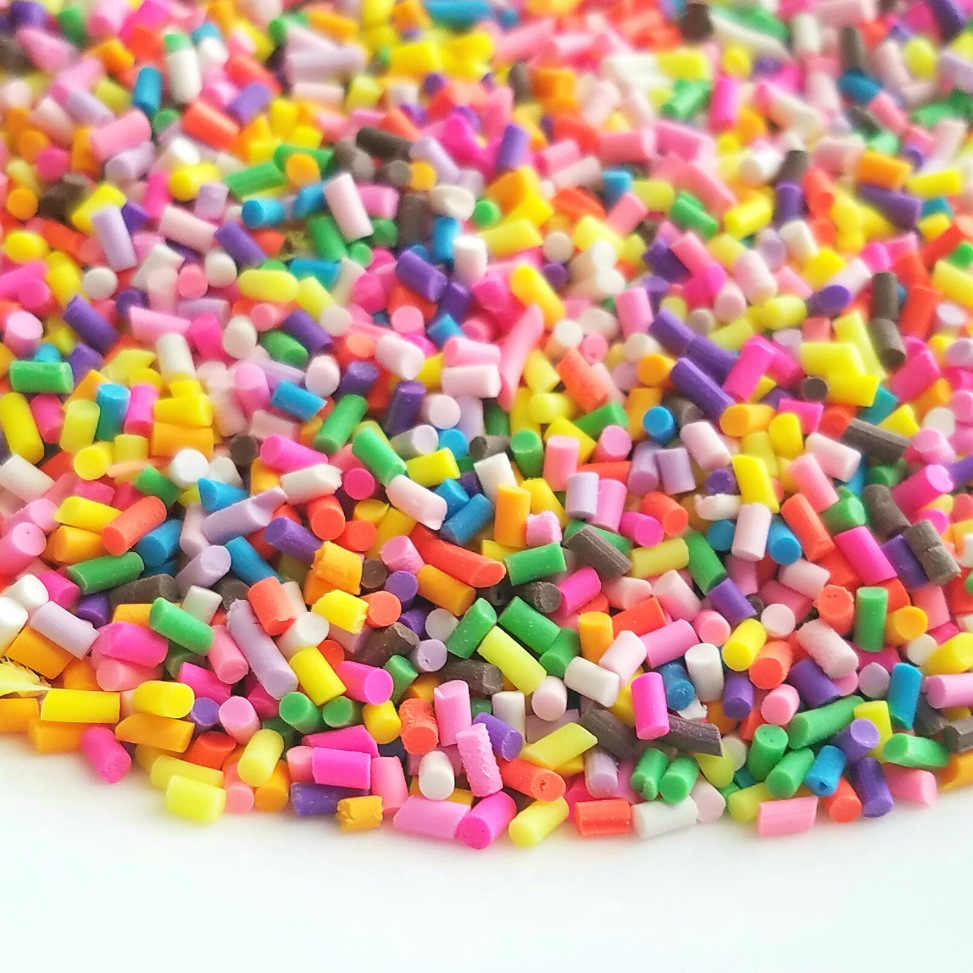 Detail Feedback Questions about 10g Fake Sprinkles