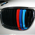 FULL WERKNew Car Styling 3D M Logo Steering Wheel Sticker Cover for BMW X1 E60 E36 E39 E46 E30 E60 E90 E92 F10 F30 F25 Accessori