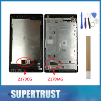 1PC/Lot 7For Asus ZenPad C 7.0 Z170MG Z170CG With frame LCD Display+Touch Screen Digitizer Assembly Black Color with tape&tools