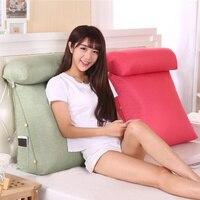 Head Back Waist Cotton Linen Seat Cushion Silk Cotton Core Tatami Cushion Pillow Home Decoration Car Office Sofa Chair Cushion