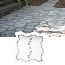 Бетонный тротуар Плесень DIY Путь производитель мощения цемента кирпич камень дорога плесень
