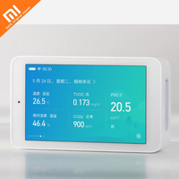 The latest Xiaomi Mijia air detector High precision sensing 3.97 inch screen resolution 800*480pUSB interface remote monitoring