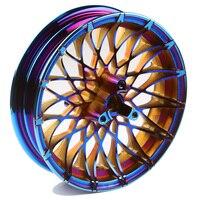 12*6,98 см алюминиевый передний обод колеса 3 отверстия для тормозного диска для Yamaha Bws изменить аксессуары для мотоциклов Бесплатная доставка
