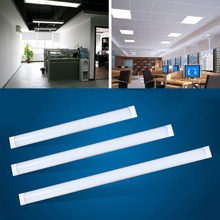 1PC LED Slim Ceiling Batten Tubes Light Fluorescent 30CM 60CM 90CM120CM Home warhouse hotel DIY store lighting
