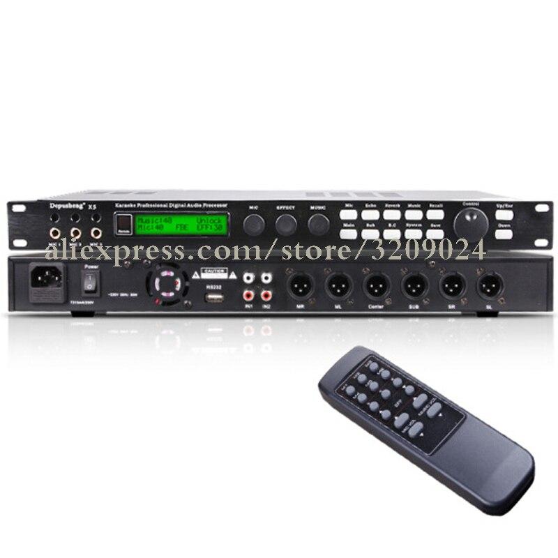 Digital Processor Speaker Management Audio Processor Stage Audio Equipment KTV Private Room Computer Interface Debugging Vocal