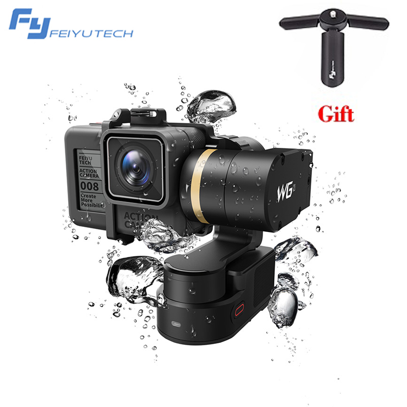 FeiyuTech Feiyu FY WG2 3-Axis Wearable Waterproof Gimbal for GoPro Hero 5 4 Session PK FY MINI Handheld Gimbal Stabilizer feiyu tech fy wg2 3 axis waterproof handheld video stabilizer digital compact camera holder motion steadicam for gopro hero5 4