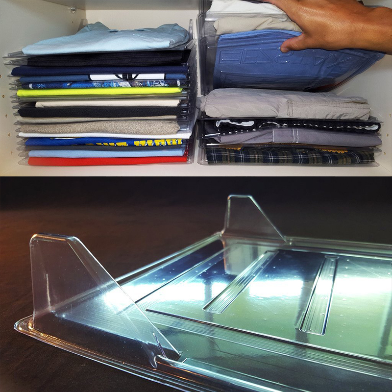 5pcs/lot Clothes Organizer System Closet Organizer Drawer Organizer Organization Office Desk File Cabinet Organizer