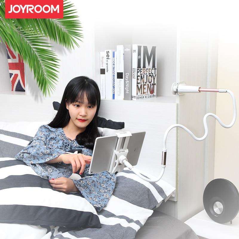 Joyroom 360 градусов ленивый гибкий держатель таблетки 1.2 m длинные руки универсальный мобильный телефон держатель регулируемый размер от 4 «до 10….