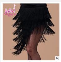 latin dancing dress elegant waltz ballroom dance dress milk silk dress short sleeve leopard pattern