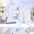 3 Cores 2016 Do Bebê Novos conjuntos de Roupas de Moda Primavera E No Outono de Algodão E Revestimento Exterior Frete Grátis