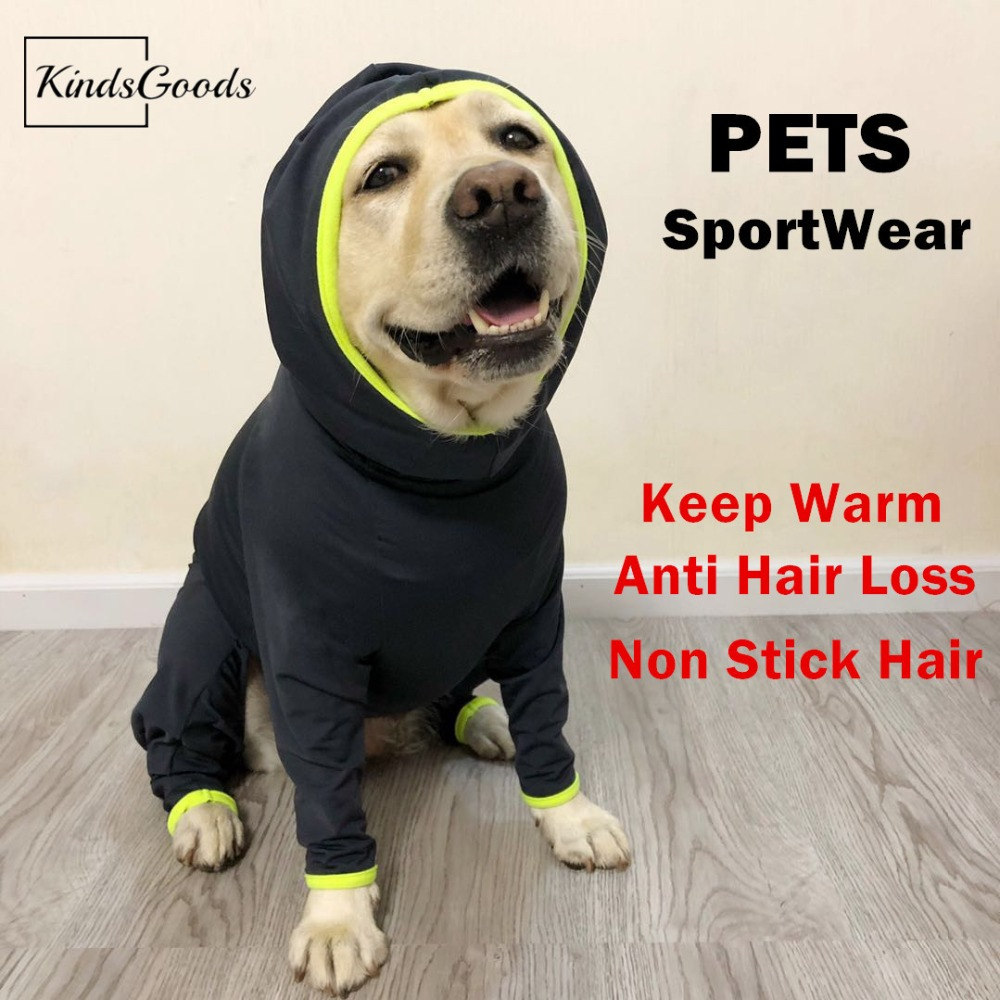 Buck Dog Sport Wear Jackets for Winter Coat for Cold Weather Anti Hair Loss Warm Top for Large Dogs