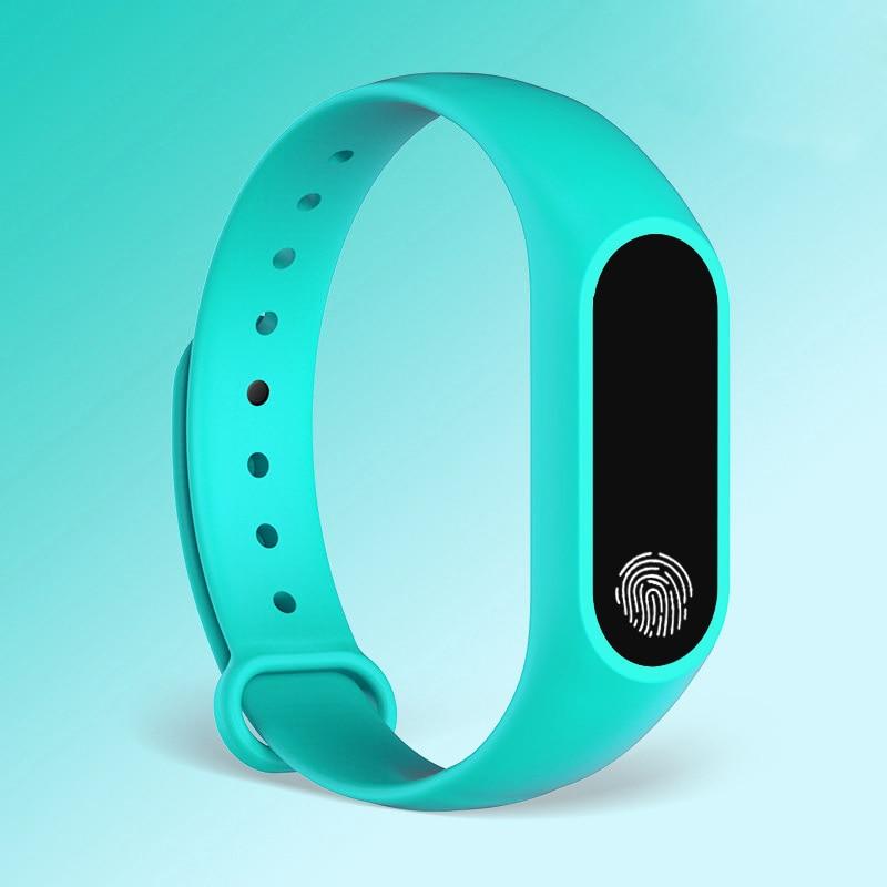 HTB14Tcbe3mH3KVjSZKzq6z2OXXaj M2 Sport Bracelet Smart Band Heart Rate Watch Men Women Smartwatch For Android IOS Fitness Tracker Electronics Smart Clock