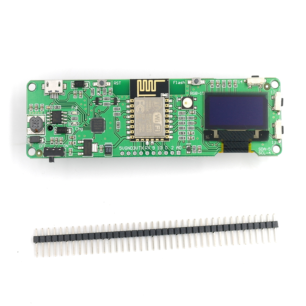 US $12 0 |DSTIKE WiFi Deauther OLED V1 5S(Pre flashed) ESP8266+OLED ESP 12E  NodeMCU IOT Wireless Radio Development Kit 18650 charger ESP32-in Home