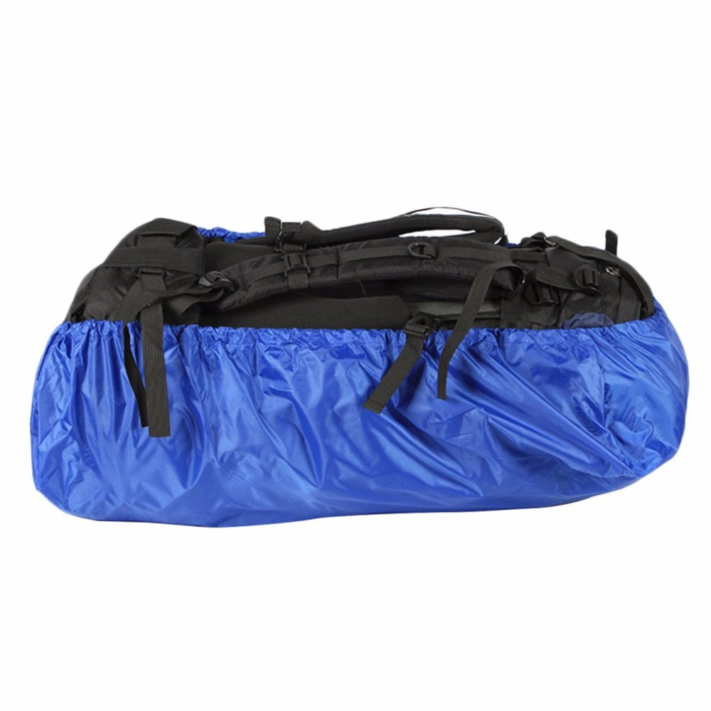 120L/56L Waterproof Backpack Rin Cover Rain Resist Cover Climbing Bag Backpack Hiking Camping Cycling Shoulder PU Travel Bags