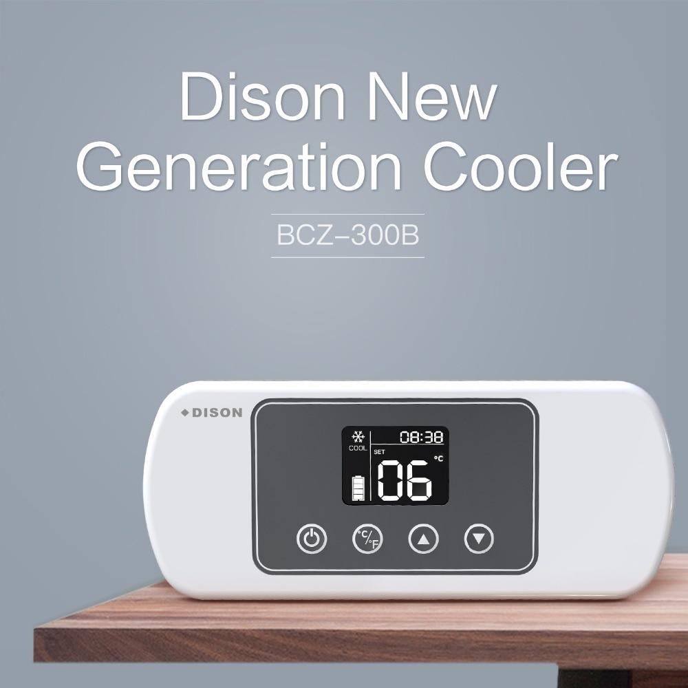 Dison Portable 2-8 Degree Mini Fridge Insulin Cooler Bag Diabetes Bag Insulin Cooler Box Drug Serum Specimen Refrigerator