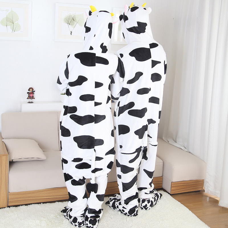 cow onesies for men and women kigurumi