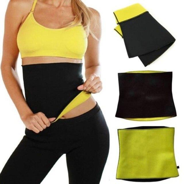 2f60b870bbe64 S-XXXL Popular Hot Shaper Slim Belt Slimming Abdomen Belly Belt Bodysuit  Waist Trainer Stretch Women Hot Neoprene Body