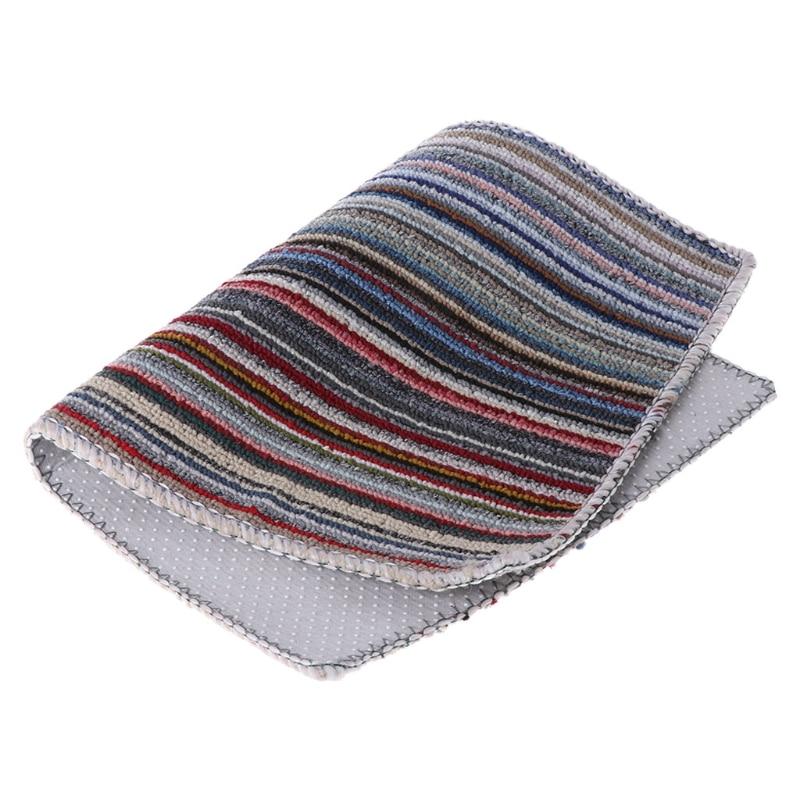 Home Use Door Mat Latex Floor Rug Non-slip Pad Home Indoor Outdoor Doormat Carpet Home Textile Mat