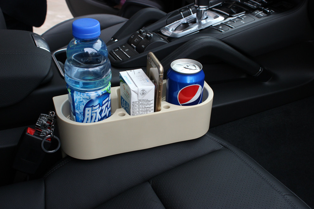 auto truck car seat drink cup holder valet beverage can bottle food mount stand box organizer multifunction vehicle tool 2colour