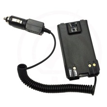 12V BP 264 samochód ładowarka Eliminator dla radia Walkie Talkie dla IC V80 IC V80E IC F4008 IC T70E IC F3002