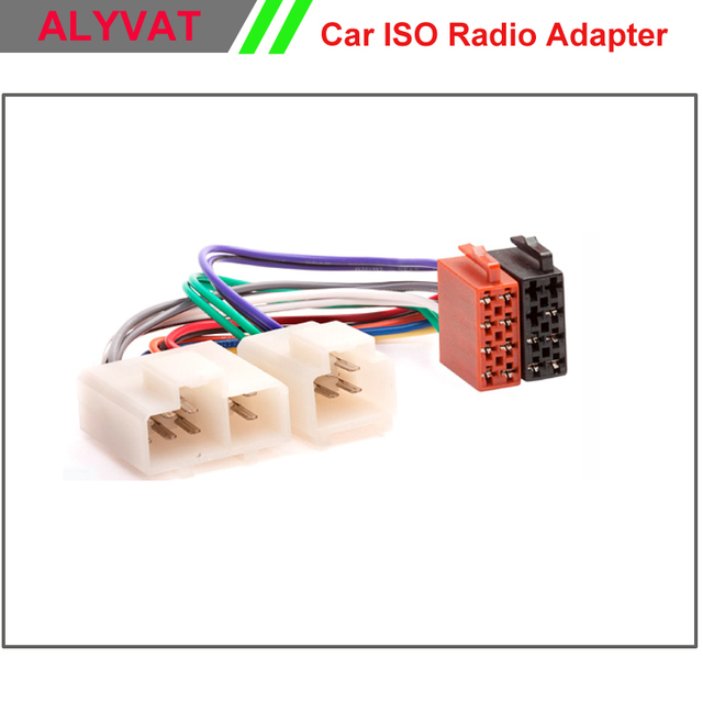 Car ISO Radio Adapter Connector For Nissan Maxima Micra Patrol Sunny ...