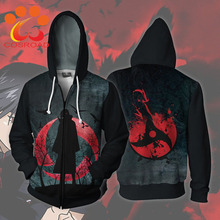 цена на Naruto Hoodie Uchiha Itachi Sasuke Cosplay Costumes Men Jacket Casual Coat for Halloween Party