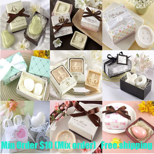 Homemade Gifts For Wedding: Mini Soap Gifts For Wedding Party Decoration Soap Gift