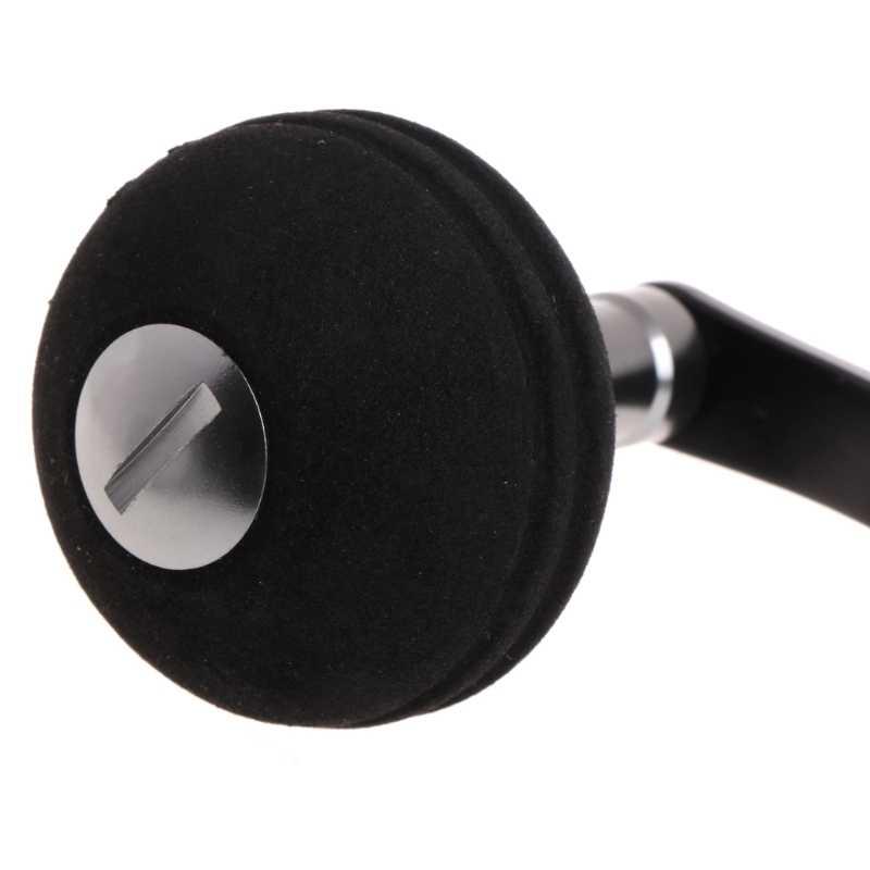 Carretel de pesca alça único botão substituição acessório de arremesso liga alumínio