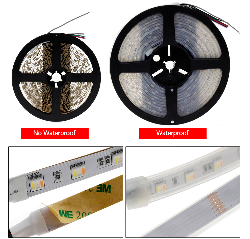 5 in 1 chips LED Strip Light 5050 (12)