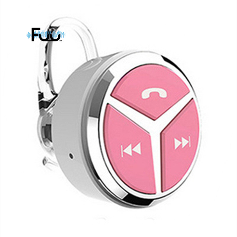 2016 New Cute Round Voice Wireless Mini Bluetooth Earphone Microphone Noise Sports 4.1 Q5 Earhook Stereo Headphone For Phone dbigness sport running bluetooth earhook headphone mini wireless earphone stereo noise canceling auricular for xiaomi iphone