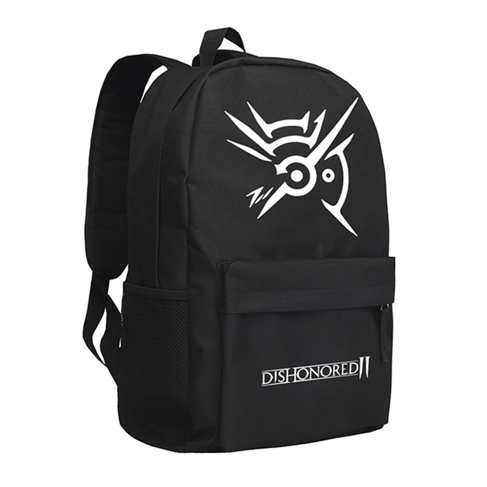 2018 Dishonored Backpack Corvo Attano School Bag цена