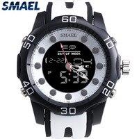 패션 SMAEL 새로운 멋진 남성 시계 석영 디자인