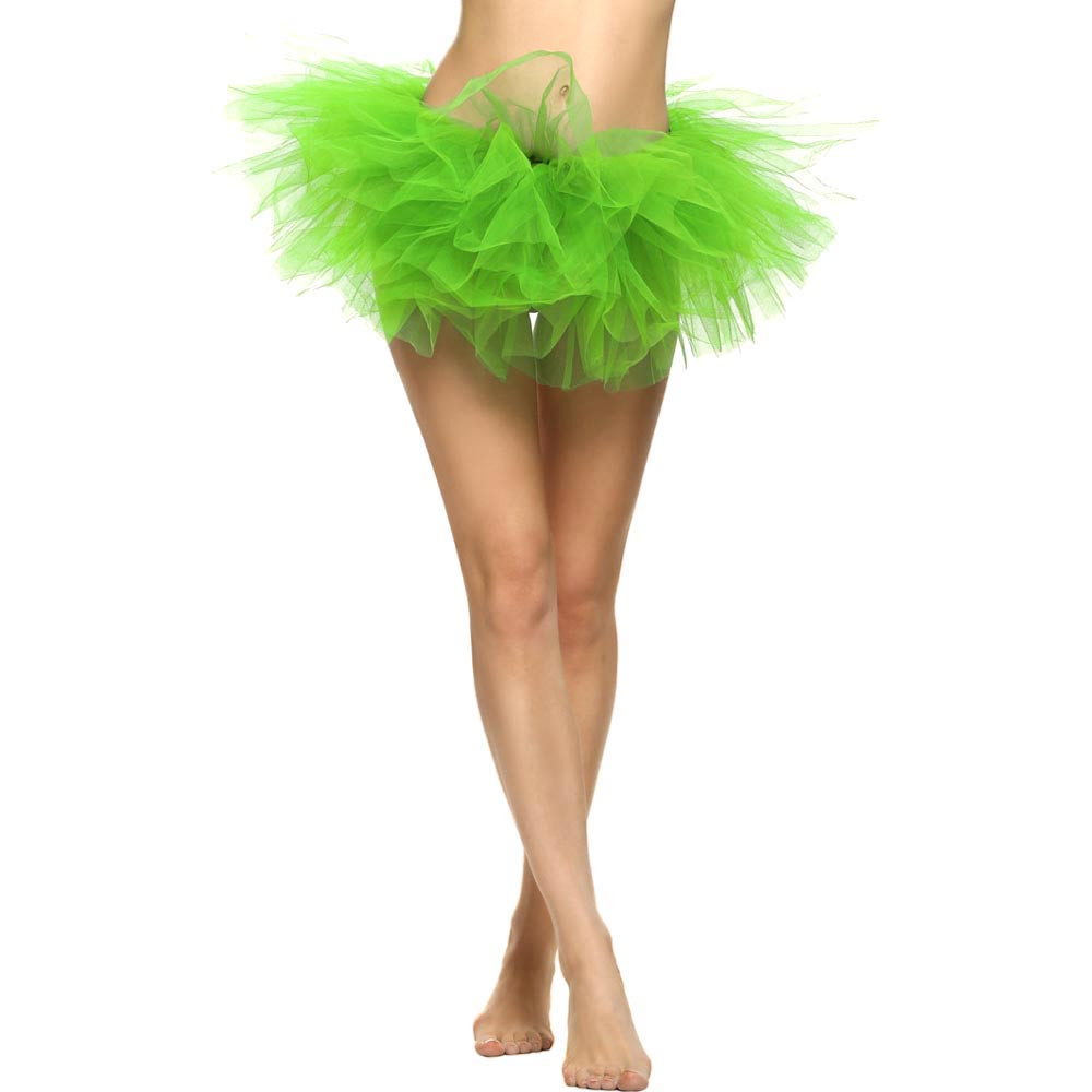 2019 MAXIORILL NEW Hot Sexy Fashion Pretty Girl Elastic Stretchy Tulle Adult Tutu 5 Layer Skirt Wholesale T4 93