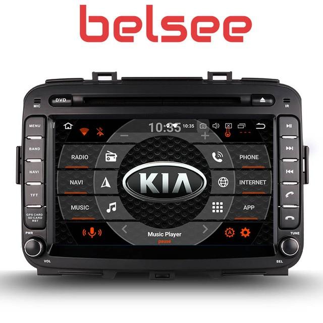 Belsee 8 дюймов Сенсорный экран Радио Android 8,0 Штатная Восьмиядерный PX5 gps dvd-плеер автомобиля Нави Kia Carens 2013 2014 2015 2016 2017