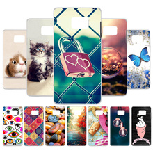 Custom Silicone Case For Samsung Galaxy A7 2018 Case Coque Samsung Note 5 9 N950F N9000 A750 Note 8 Cases Cover Back Funda s style protective tpu back case for samsung galaxy note 3 n9000 red