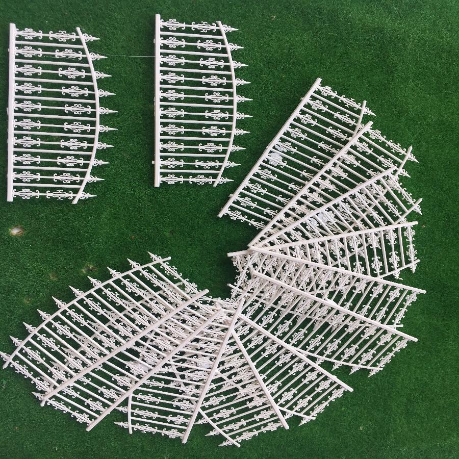 1 Meter Model Railway Building Fence Wall 1:87 HO OO Scale NEW