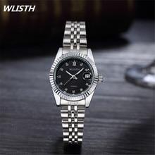 2017 WLISTH Brand Quartz Women Watches Gold High Fashion Gold Diamond Luxury Ladies Watch Bracelet Watches relogio feminino