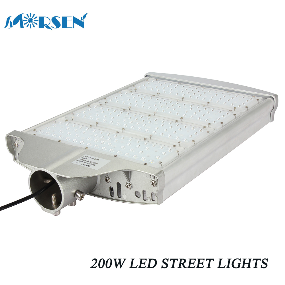 4pcs LED Street Light 100W 150W 200W  For Garden Highway Yard Park AC85-265V Warm/Cold White Waterproof IP65 Led Outdoor Lamp#30