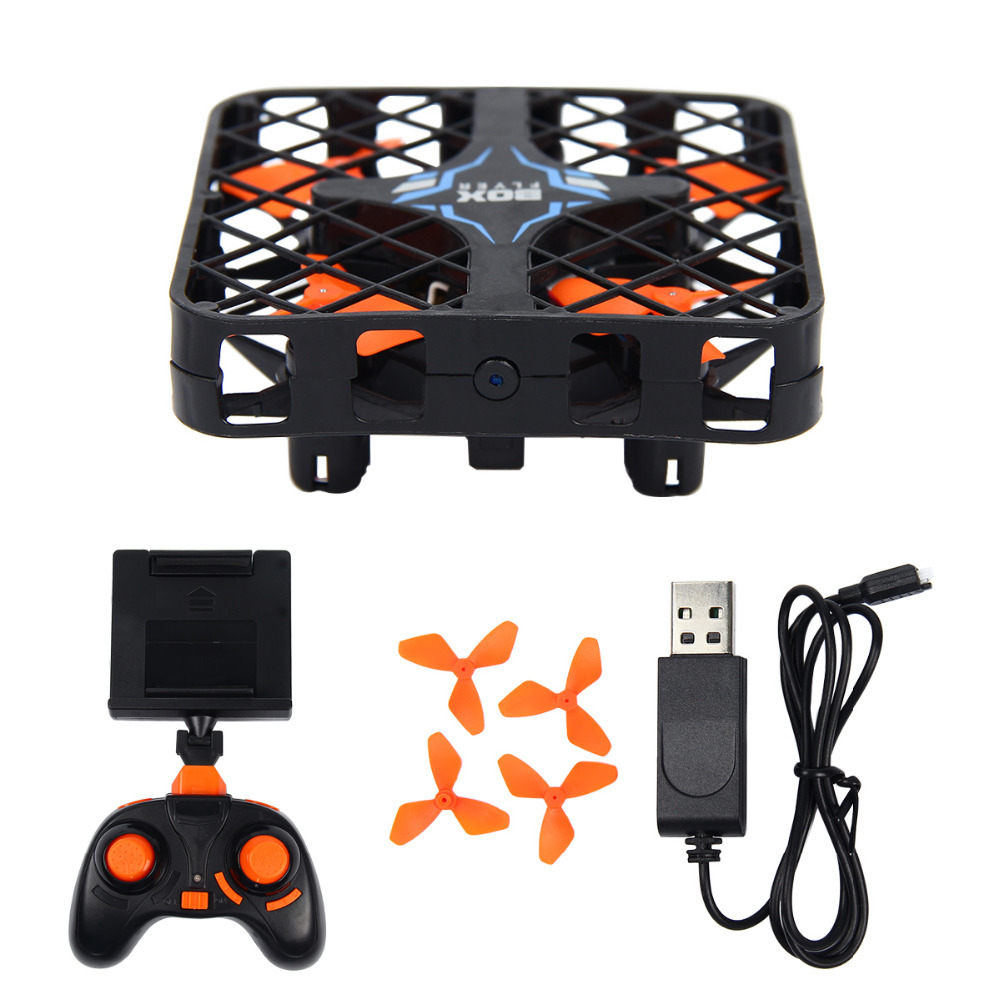HISHITOON Super Micro RC Quadcopter Box With/Without WIFI Camera Mini Drone With Altitude Holding ...
