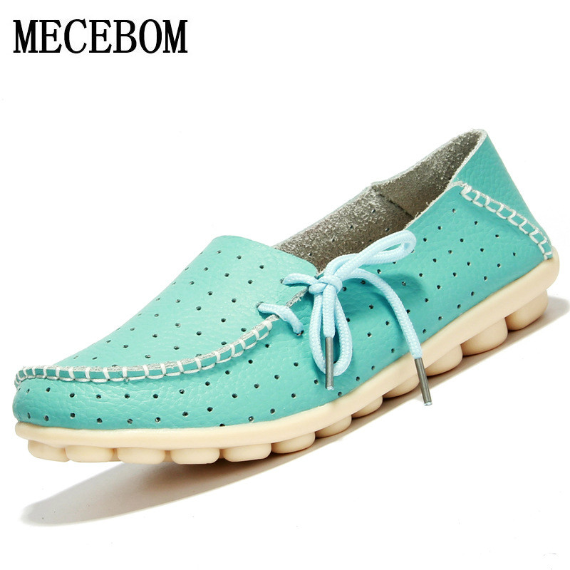 2018 Shoes Woman Leather Women Shoes Flats 7 Colors Buckle Loafers Slip On Women's Flat Shoes Moccasins Plus Size 816W цены онлайн