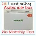 2016 Versão Atualizada Melhor Poder de Vida CAIXA de IPTV Arábica livre Suporte para TV Quase 500 pcs Iptv Canais Árabes