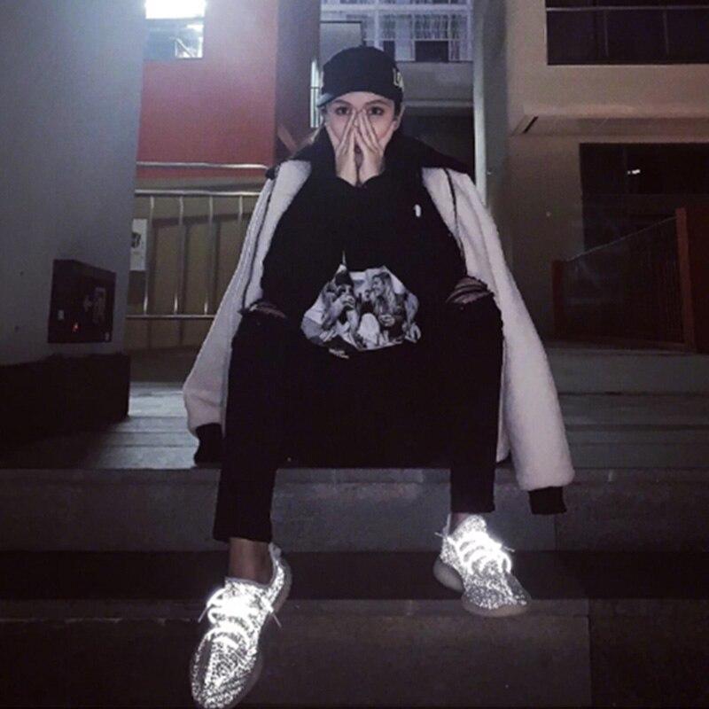 Marque Conception Taille Chaussures Compensées Blanc Éclairage À En New 2019 Grande Cuir Doublure Summer 43 35 Mesh Sneakers Doratasia Femme Femmes Semelles HatI1nO