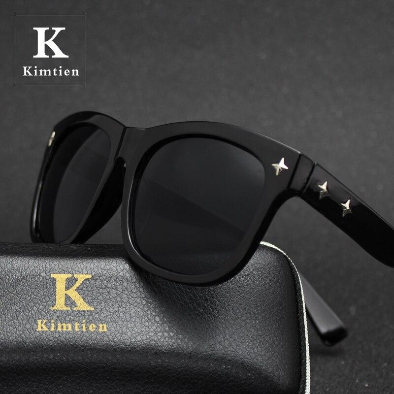 Sunglasses Women Men Classic Men Retro Rivet Shades Brand Designer Veithdia lunette de soleil femme Oculos