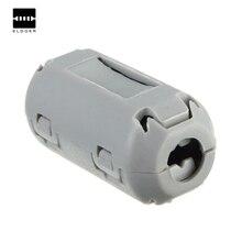Никель-Цинковый серый съемный 5 мм фильтр TDK Ферритовое кольцо Клипсы из бисера помех EMI RFI аудио кабели прочные фильтры